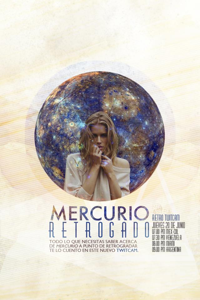 Twitcam de Mercurio Retrogrado en Cancer