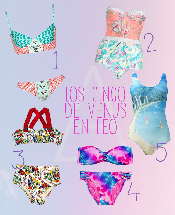 Los 5 de Venus en Leo-Miastral