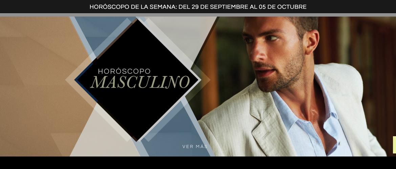 Horóscopo Masculino del 29 de Septiembre al 5 de octubre