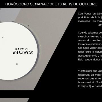 Horóscopo de la semana del 13 de al 19 de octubre