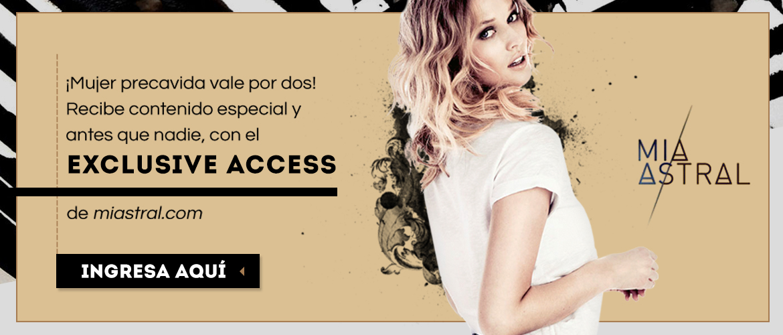 ¿Quieres inscribirte en el #ExclusiveAccess?