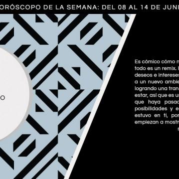 Horóscopo de la semana del 8 al 14 de junio