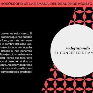 Horóscopo extendido: semana del 3 al 9 agosto