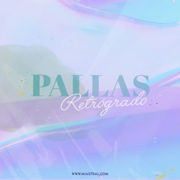 pallas retrogrado