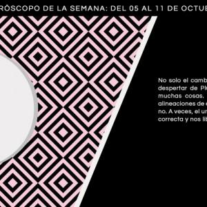 Horóscopo de la semana del 5 al 11 de octubre