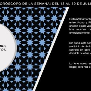Horóscopo de la semana del 13 al 19 de julio