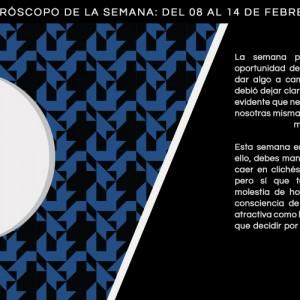 Horóscopo de la semana del 8 al 14 de febrero
