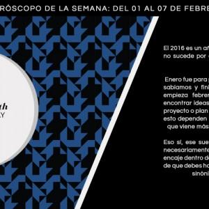 Horóscopo de la semana del 1 al 7 de febrero